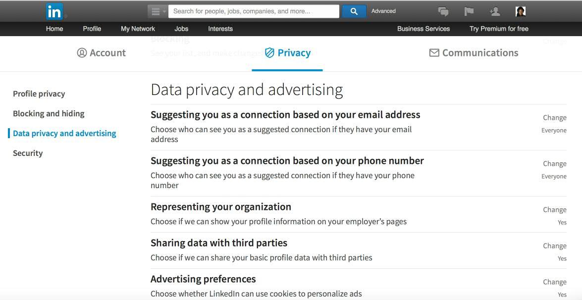 linkedin-privacy